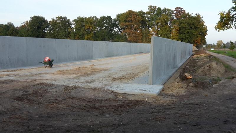 Sleufsilo storten ter plaatse of van beton elementen maken ? SIMBeton