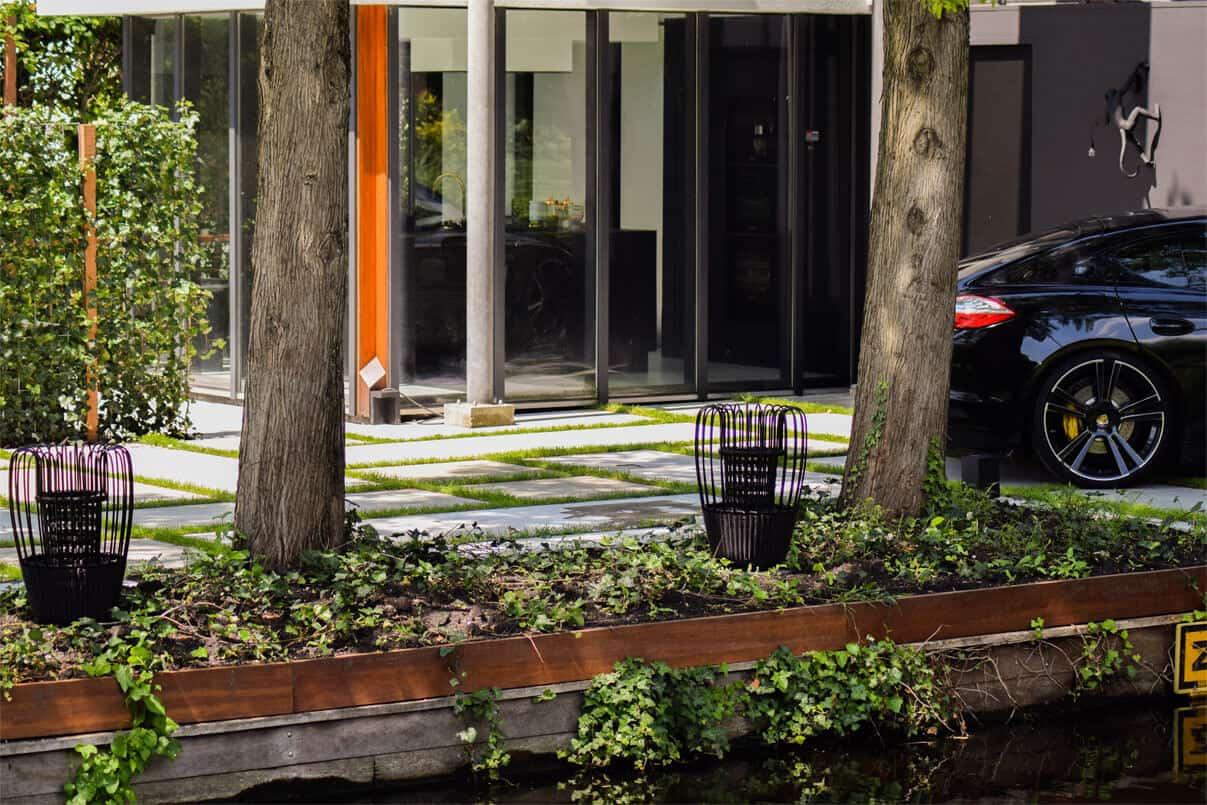 Een project afbeelding van onze Een betonnen oprit of betonplaten in uw tuin
