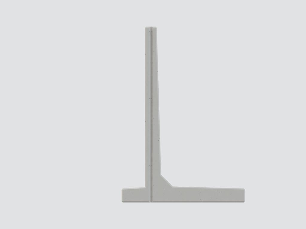 LZX keerwanden | De sterkste wand uit ons assortiment, uitgevoerd met hak.