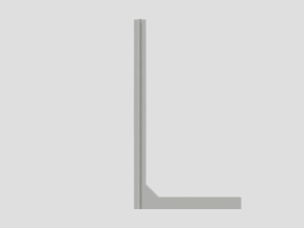 CBX keerwanden | De meeste geschikte optie wanneer er verschillende hoogtes moet worden opgevangen.