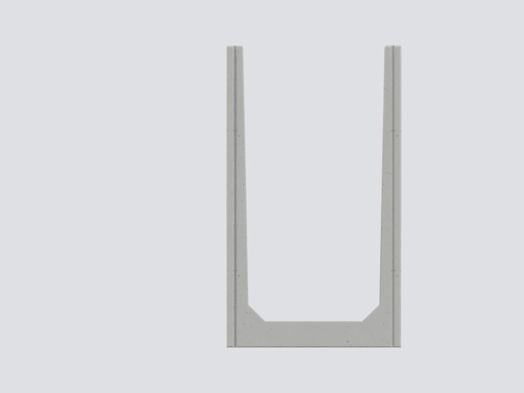 U Sleufsilowanden | Standaard leverbaar met trap en kopplaat.