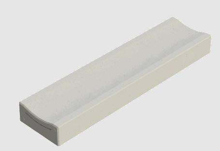 Molgoten | Beschikbaar met een holling van 1,5 en 3,5 centimeter.