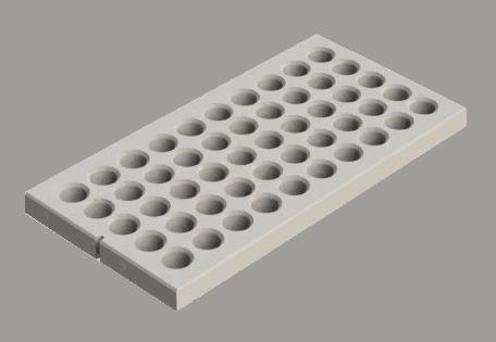 Gras betonplaten