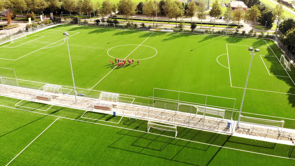 Sportpark verharding