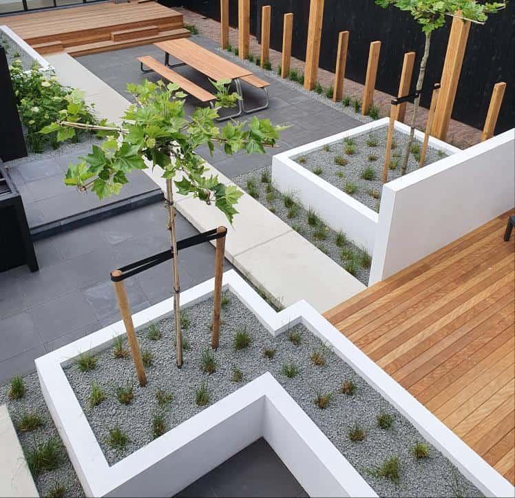 Moderne stadstuin in Gouda, inspiratie project